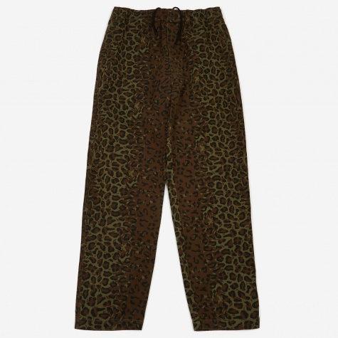 Jungle Camo Beach Pant - Olive
