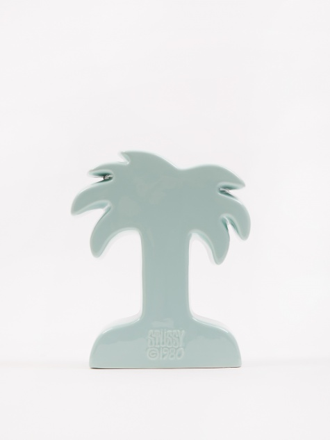 Palm Ceramic Vase - Seafoam