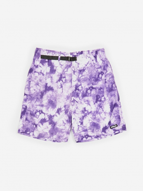 Bleach Nylon Mountain Short - Purple