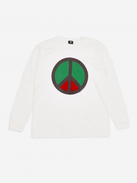 Peace Pig. Dyed Longsleeve T-Shirt - Natural