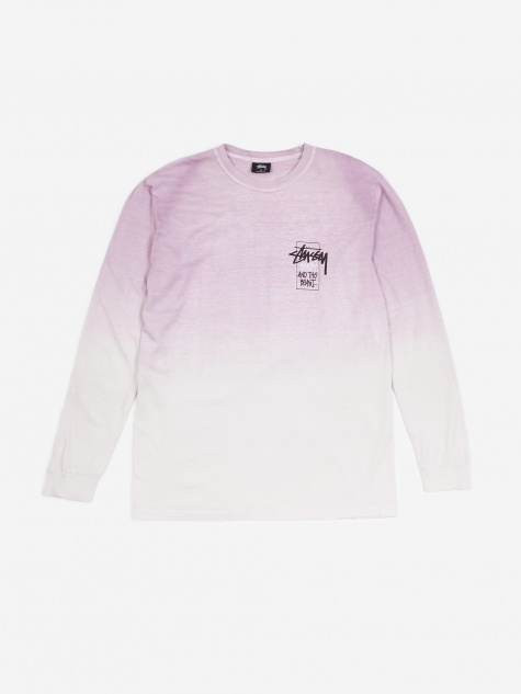 Offering Dip Dyed Longsleeve T-Shirt - Purple