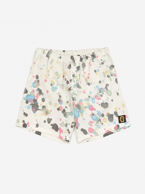 Beach Short - Splatter Dye