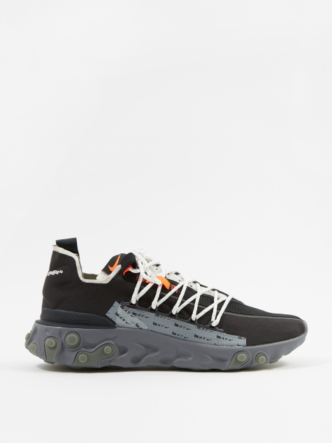 ISPA React - Black/Metallic Silver-Gunsmoke