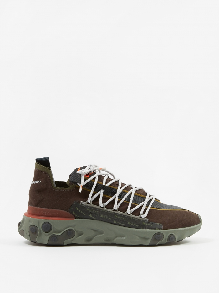 Nike ISPA React - Velvet Brown/Terra Orange-Dark Stucco (Image 1)