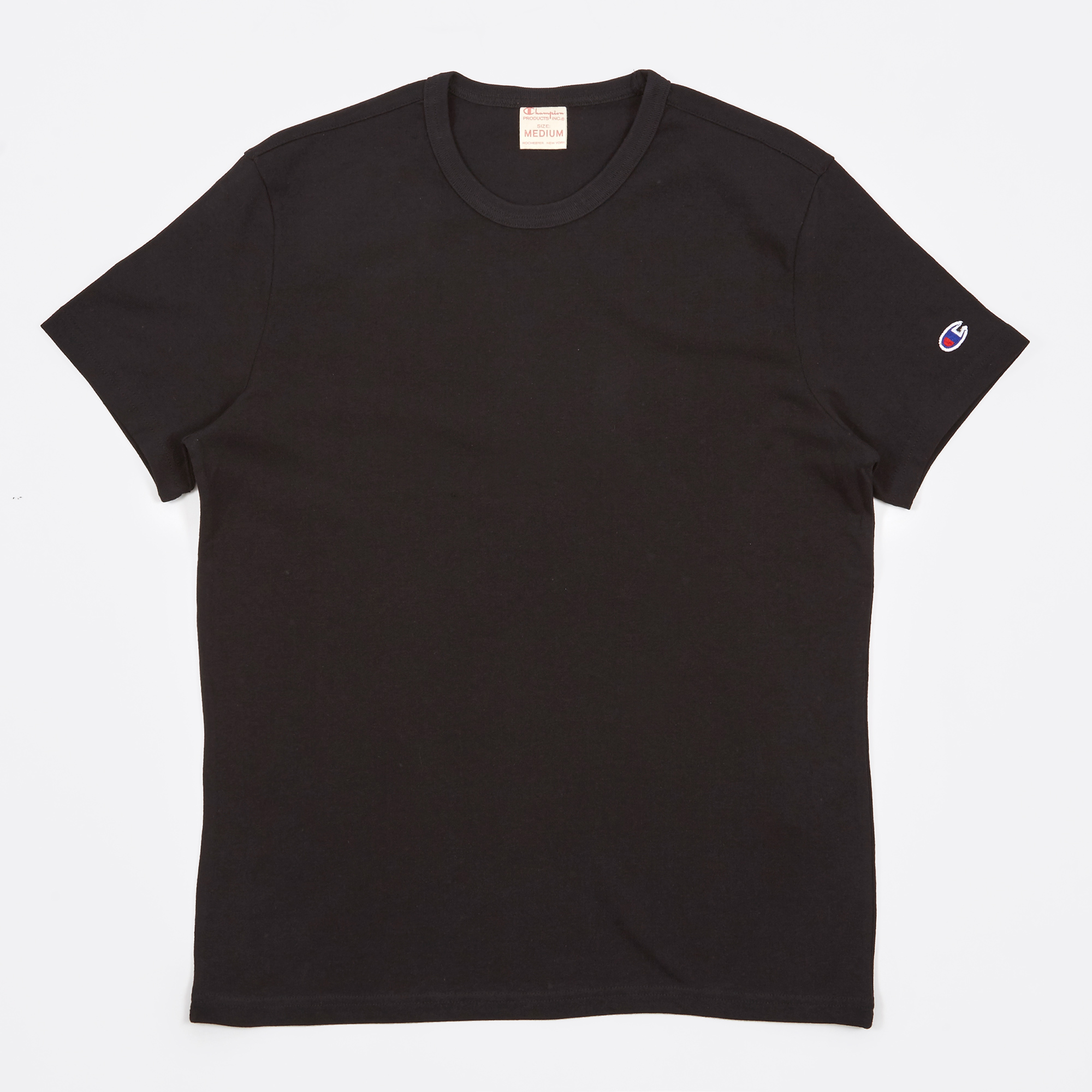 f9c3be5f Champion Reverse Weave Crew Neck T-Shirt - Black