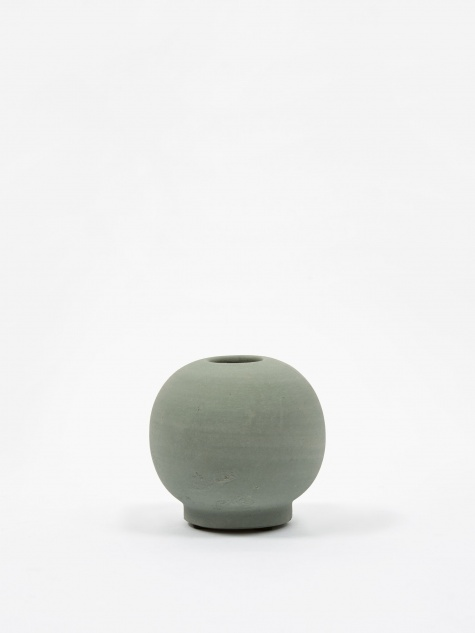 Mini Bobbles Vase - Dusty Green