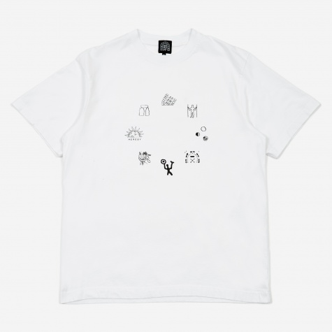 Emblems T-Shirt - White