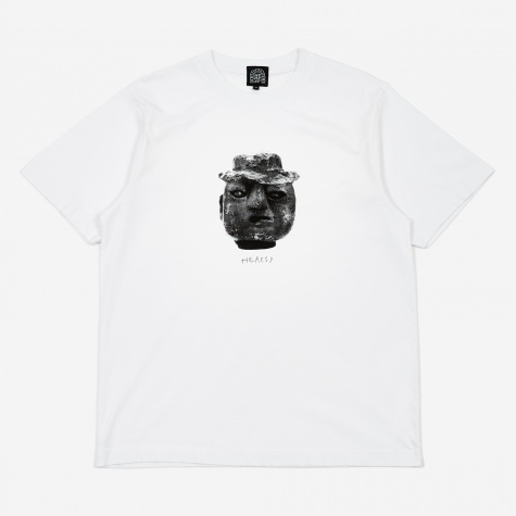 Brick Head T-Shirt - White