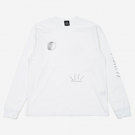 Dawn Longsleeve T-Shirt - White