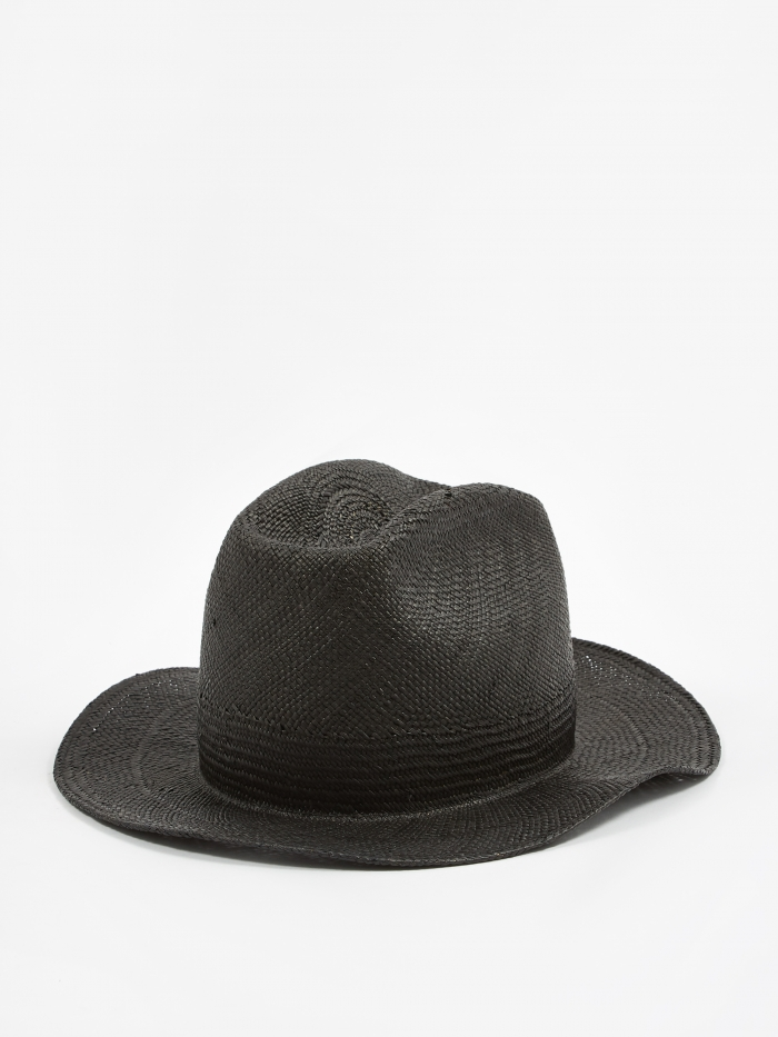 Neighborhood Panama Hat / N-Hat - Black (Image 1)
