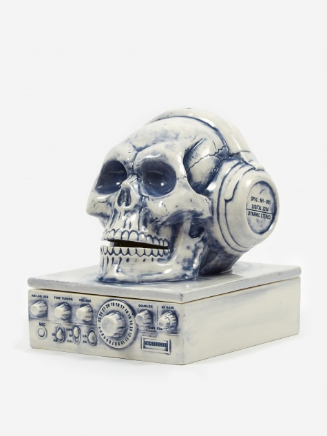 Booze Radio / CE Incense Chamber - Grey Blue