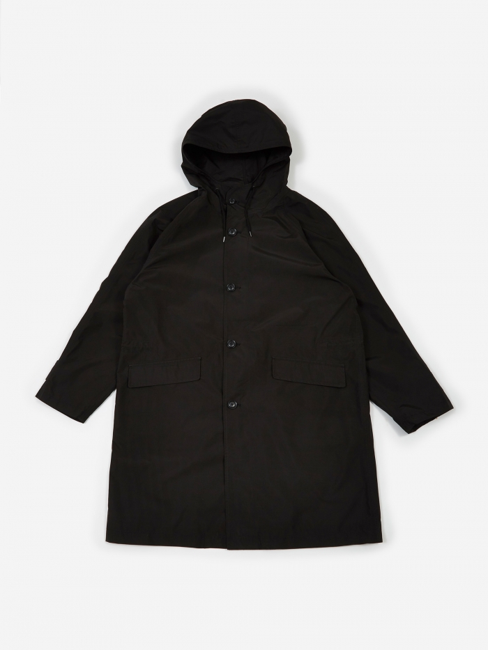 Nanamica GORE-TEX Shell Coat - Black (Image 1)