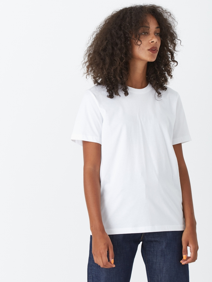 Norse Projects Gro Standard Cotton T-Shirt - White (Image 1)