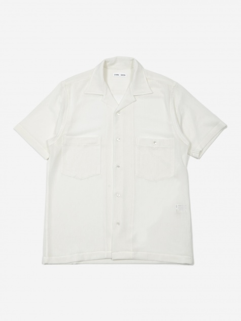 Dexter Short Sleeve Shirt - White