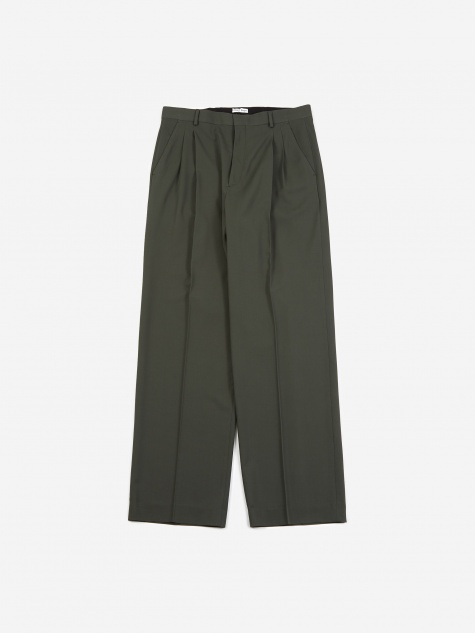 Jay Pleated Trouser- Sage