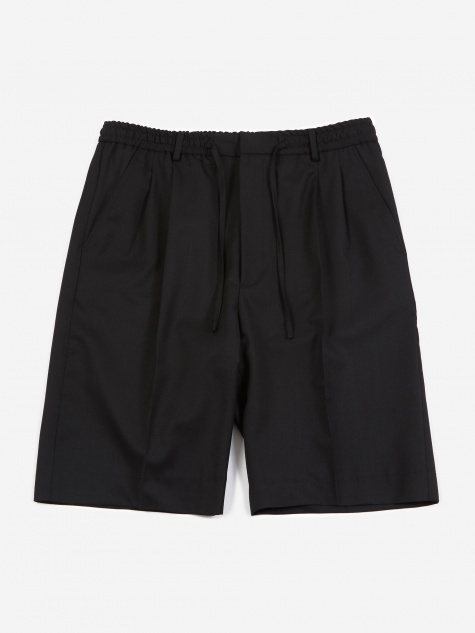 Jayson Drawstring Trouser- Black