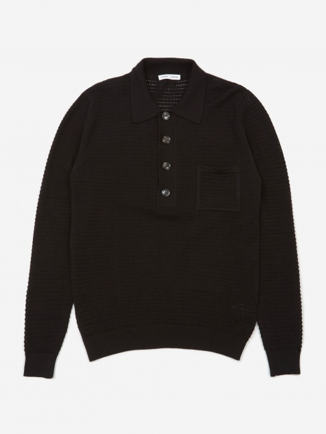 Curtis Polo Shirt - Black