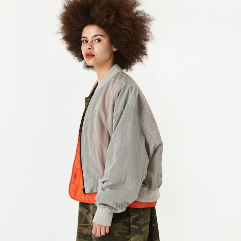 Double Layer Liner Jacket - Grey