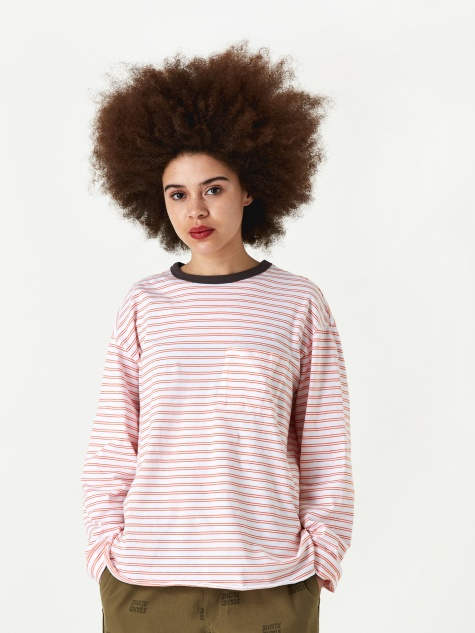 Striped Longsleeve Ringer T-Shirt - Oran