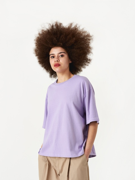 Oversized T-Shirt - Light Pur