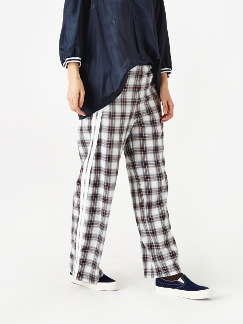 Check Trouser - Red Check