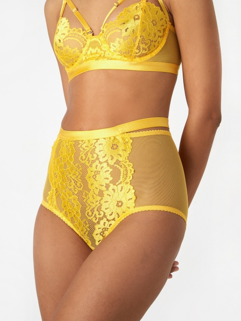 61614ce1a Lulu High Waist Brief - Ochre