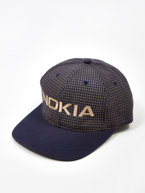 Nokia Patterned Logo Cap - Purple
