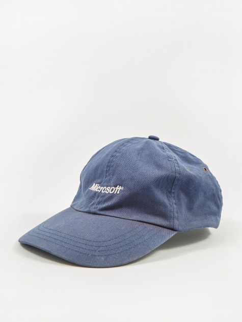 Microsoft Embroidery Logo Cap - Blue/White