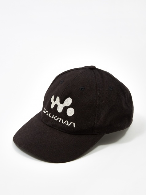 Sony Walkman Embroidered Logo Cap - Black/Silver