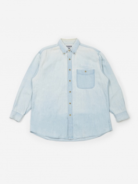 Panasonic Embroidered Logo Shirt - Acid Wash