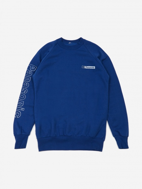 Panasonic Sleeve Print Sweatshirt - Blue