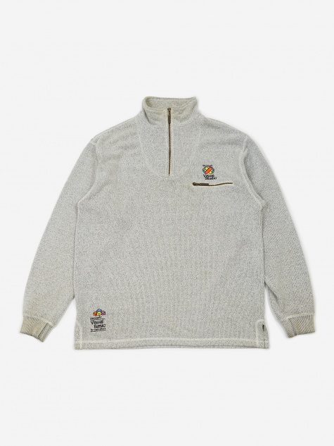 Microsoft Visual Studios Zip Fleece - Grey