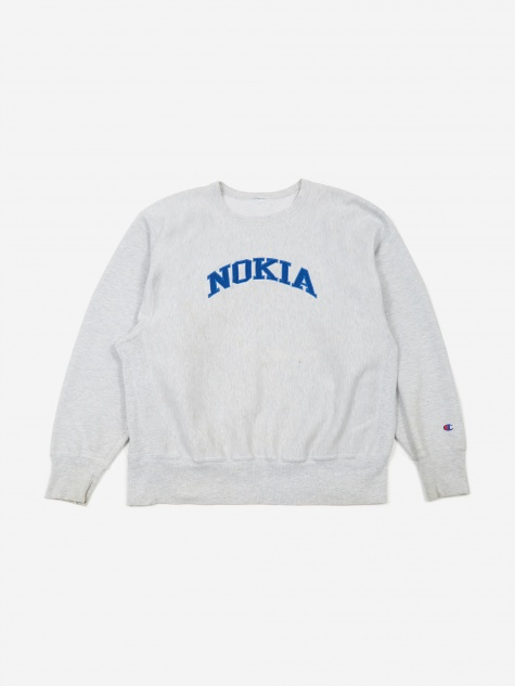 Nokia Logo Champion Sweatshirt - Grey