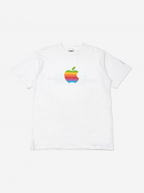 Apple The Revolution Continues T-Shirt - White