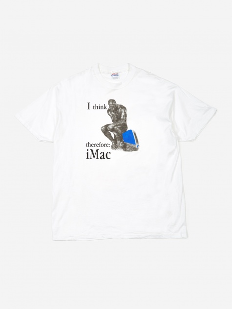 Apple I Think Therefore iMac T-Shirt - White