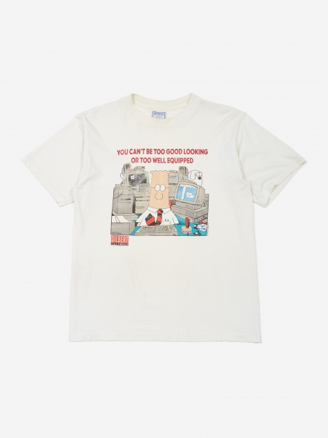 Dilbert Well Equipped T-Shirt - White