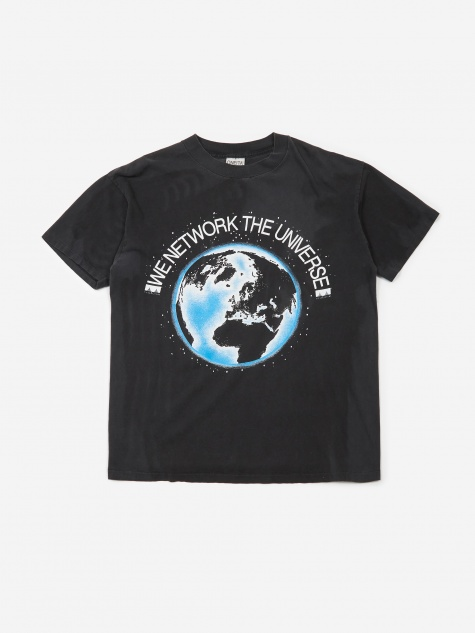 Cisco We Network The Universe T-Shirt - Black