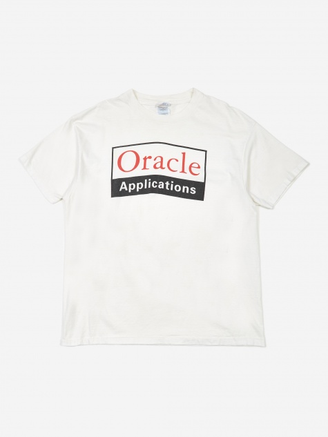 Oracle Applications T-Shirt - White