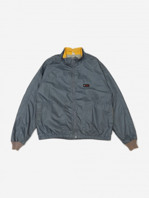 Apple Logo Windbreaker Jacket - Grey