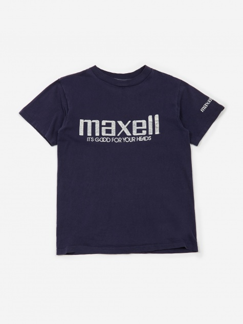 Maxell Its Good For Your Heads T-Shirt - Blue