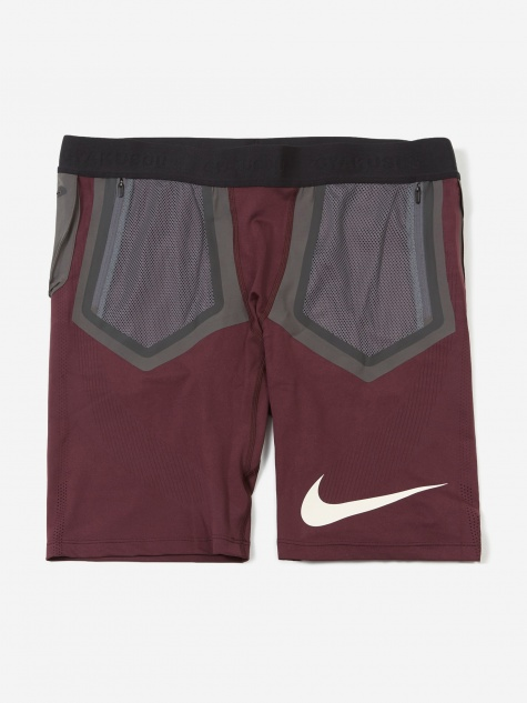 d403b4e6 Nike Gyakusou Techknit Short - Deep Burgundy/Dark Smoke Grey/Pal