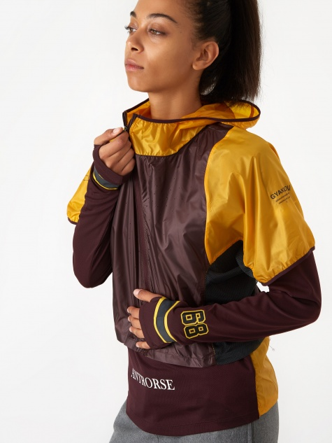 Nike Gyakusou Transform Jacket - Gold Dart/Deep Burgundy/Pale Iv