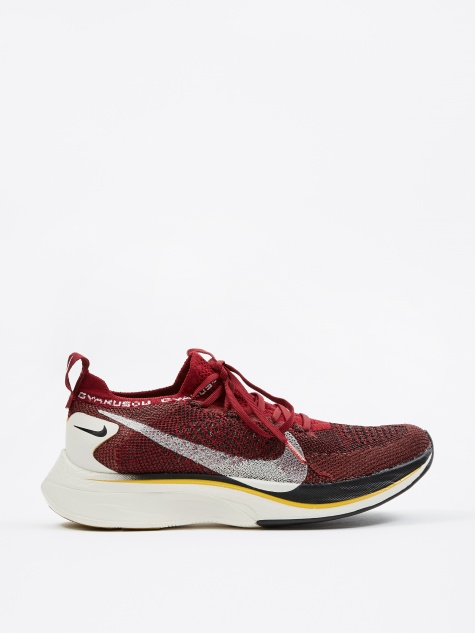 Nike Vaporfly 4% Flyknit Gyakusou - Team Red/Sail-Black