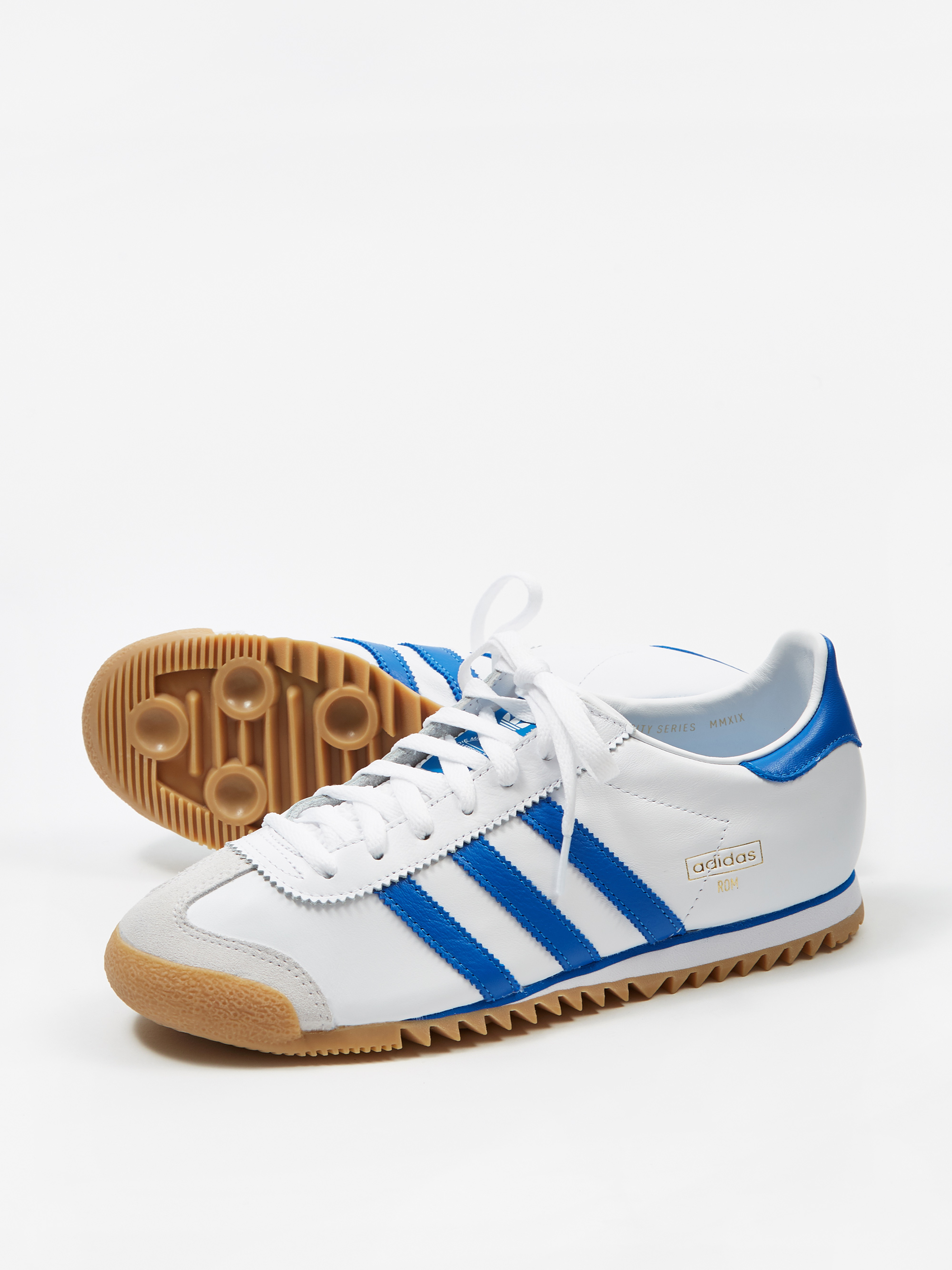 8ec13fa6f70206 Adidas ROM - White Royal Blue Gum