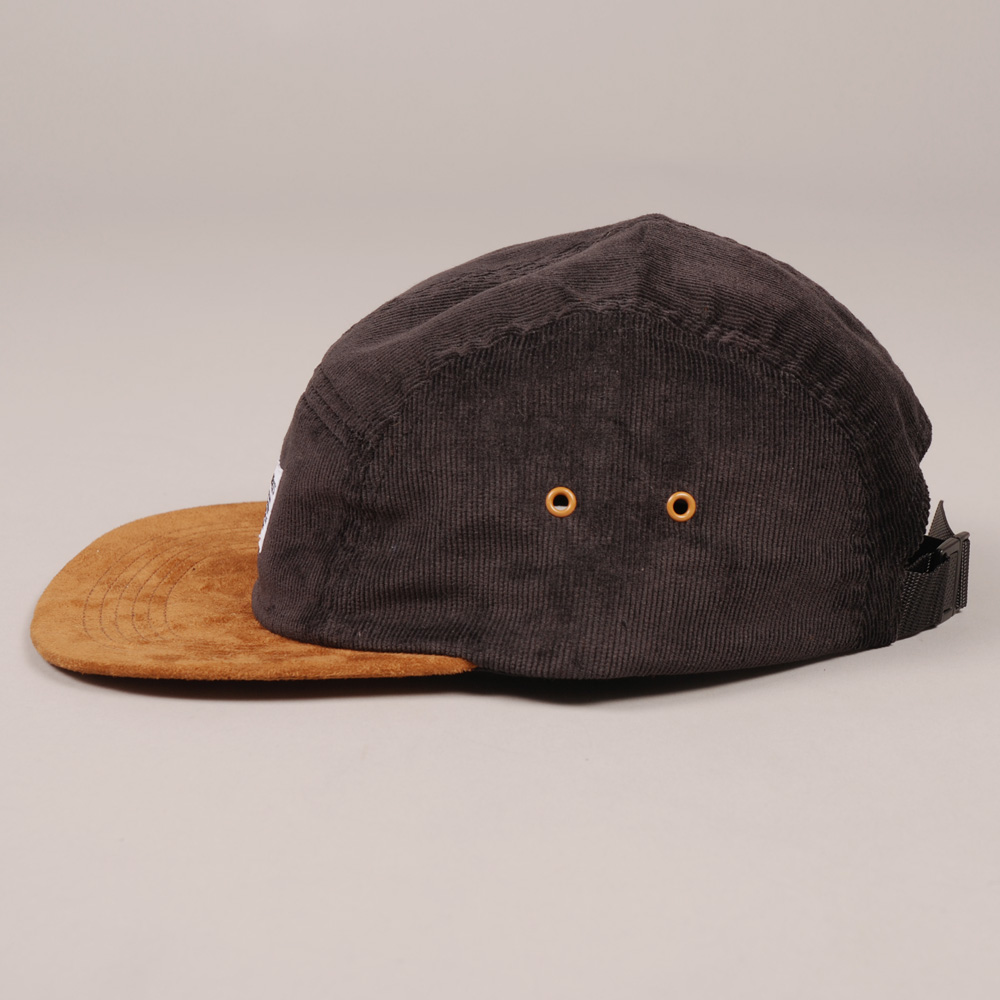 02639226685 Norse Projects 5 Panel Cord Cap - Black