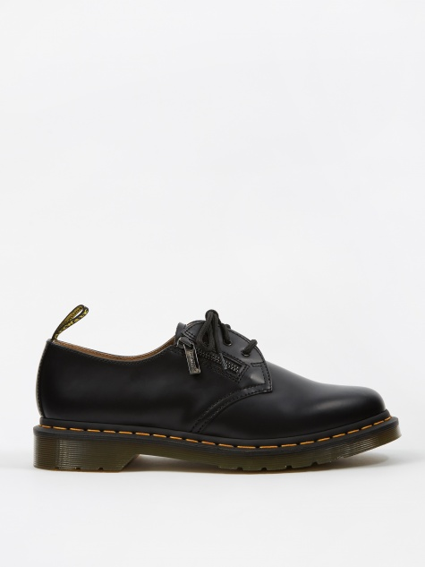 Dr. Martens x Beams Zipped 1461 - Black Smooth