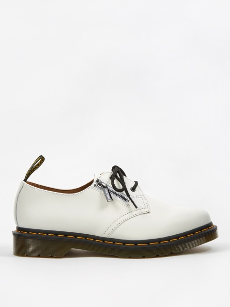 Dr. Martens x Beams Zipped 1461 - White  Smooth