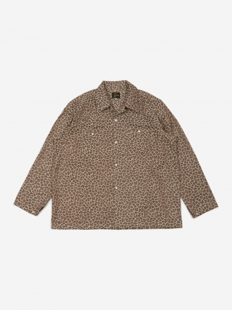 One-Up Cowboy Shirt - Leopard
