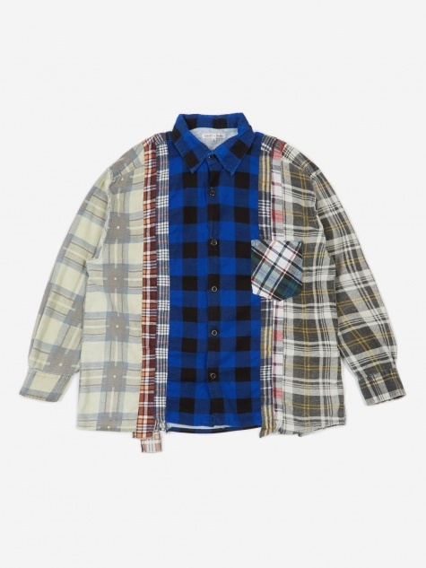 Rebuild 7 Cuts Flannel Shirt Size X-Large 1 - Assorted