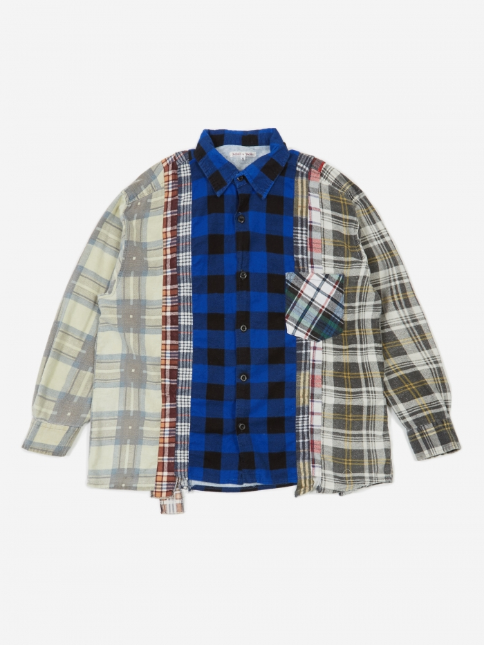Needles Rebuild 7 Cuts Flannel Shirt Size X-Large 1 - Assorted (Image 1)